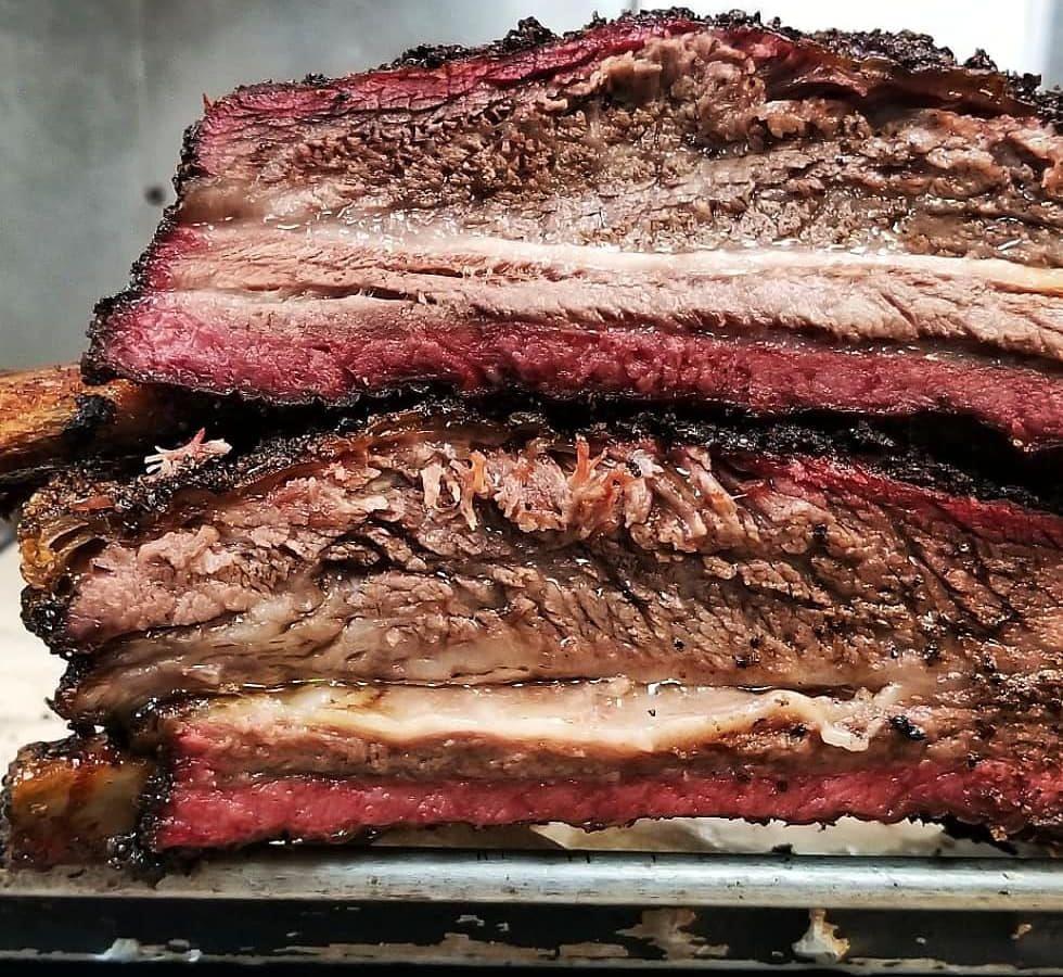 Beef ribs at Interstellar BBQ