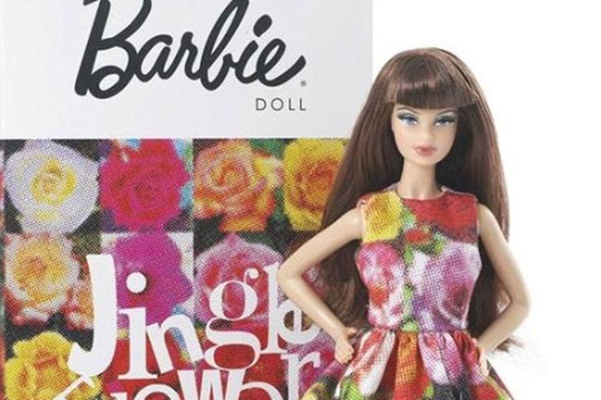 "Why didn't they have fashiony Barbies when we were growing up? Image via <a href=""http://www.dazeddigital.com/Fashion/article/6070/1/Barbie_by_Rei_Kawakubo?utm_source=Link&amp;utm_medium=Link&amp;utm_campaign=RSSFeed&amp;utm_term=Barbie_by_Rei_Kawak"