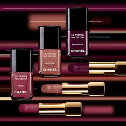 Chanel won't be doing free manicures this year, but their boutiques will sell the new Les Twin-Sets de Chanel nail polish ($26 a bottle) and lipstick ($32.50.)