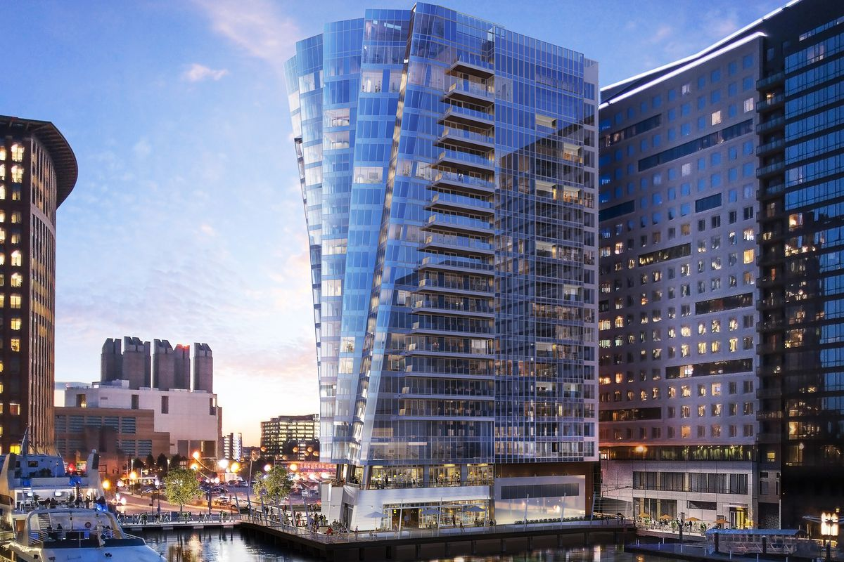 Seaport S 150 Seaport Boulevard To Be The St Regis