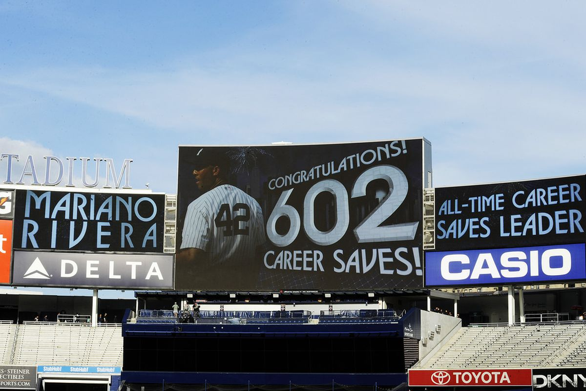 Mariano Rivera is now baseball career saves leader, but is it easy to compare him to his non-reliever peers?