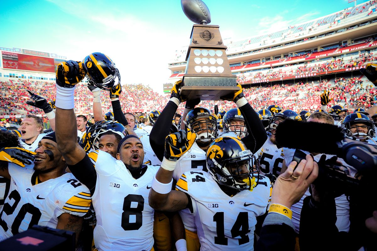 This supermarket trophy means more to the black and gold than the Big Red.
