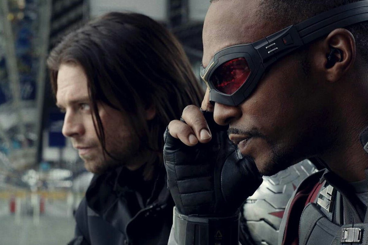 Image result for falcon winter soldier infinity war