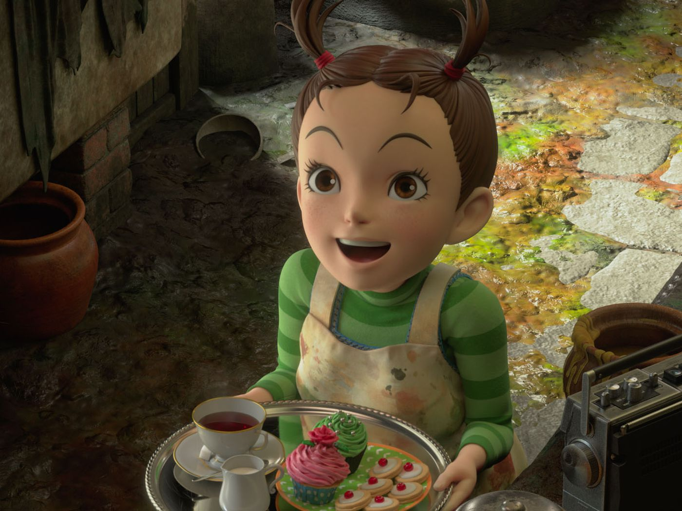 Goro Miyazaki explains Ghibli's first CG movie Earwig and Hayao's Pixar  rivalry - Polygon