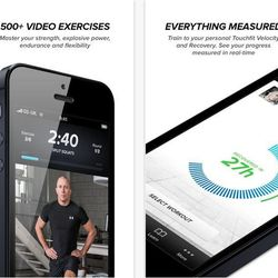 """<b><a href=""""http://touchfit.com/"""">Touchfit: GSP</a></b>  UFC champion Georges """"Rush"""" St. Pierre is a personal trainer that customizes workouts to your ability<br></br> <b>Great for:</b> Focusing on strength training without the gym<br></br> <b>Features:"""