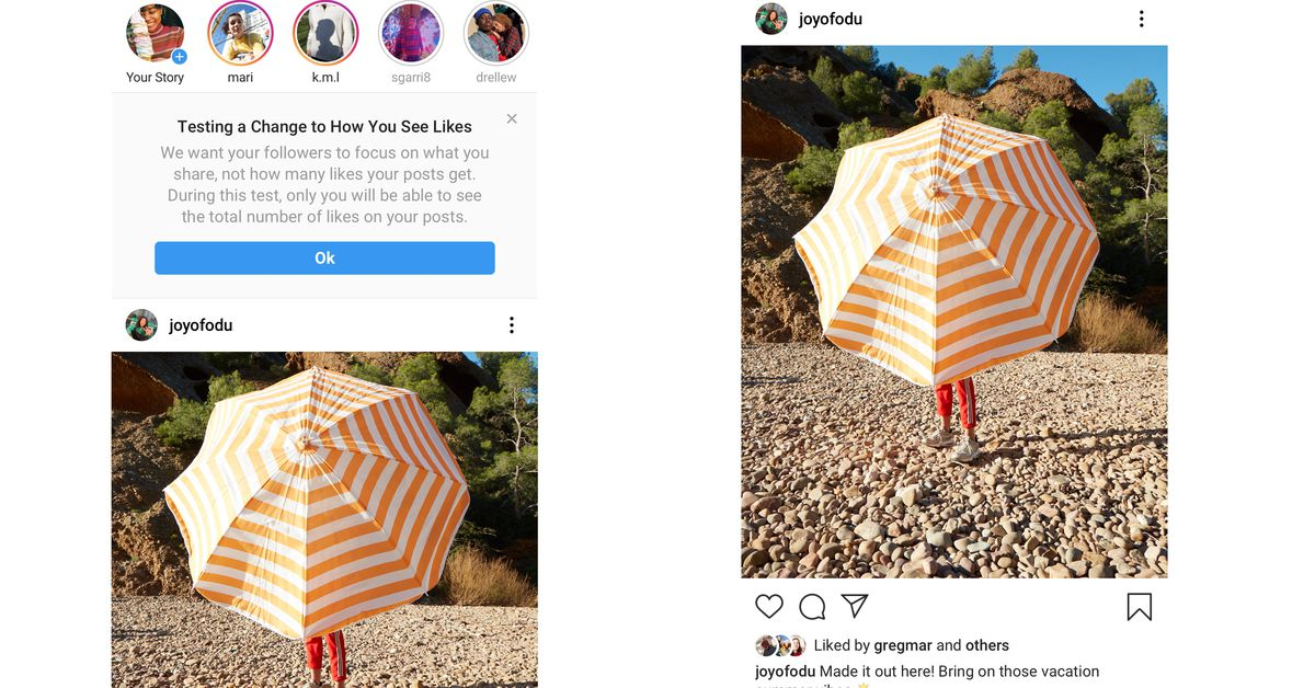 Instagram Expands its Test to Hide like Counts