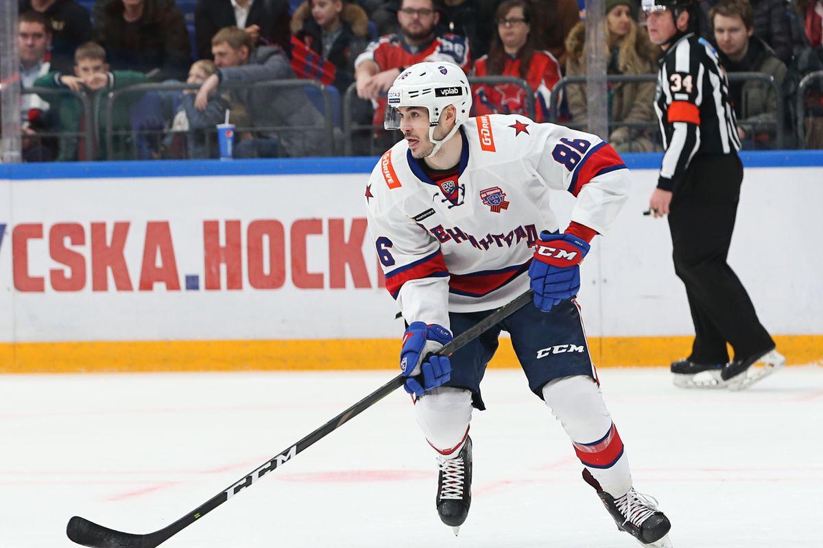 CSKA v SKA - Kontinental Hockey League
