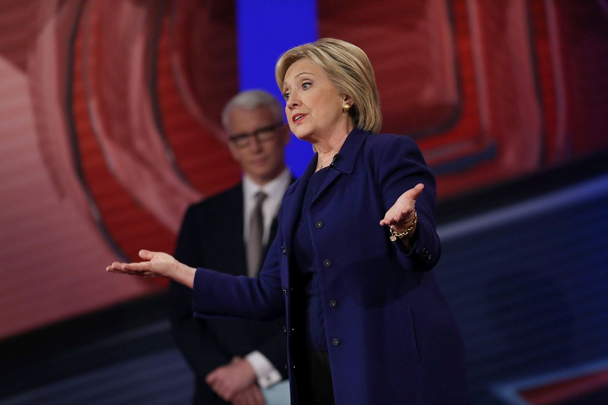 Hillary Clinton maintains that she is a progressive, but a progressive who likes to get things done.