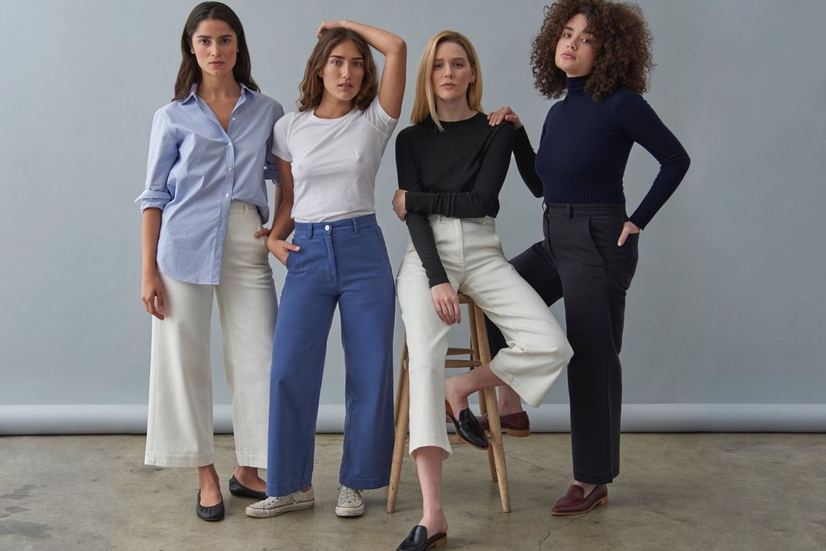 36ae36ab7fe Are Everlane s New Wide Leg Pants as Flattering as They Claim to Be ...
