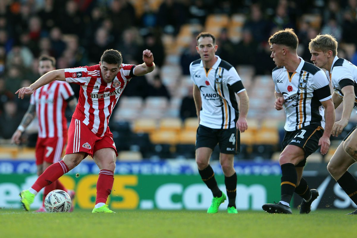 Port Vale v Sunderland - FA Cup First Round