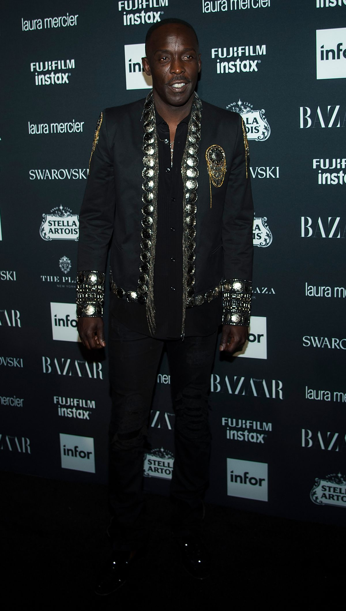 Michael K. Williams attends 2017 Harper's Bazaar Icons at The Plaza Hotel on September 8, 2017 in New York City.
