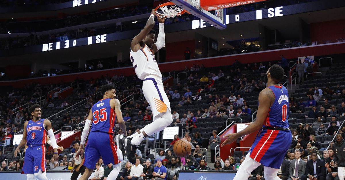 Preview: Suns try to keep slim playoff hopes alive against Pistons