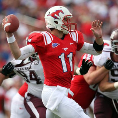 Garrett Gilbert Smu Plays Opposite His Brother Griffin Tcu For The First Time Saturday Frogs O War