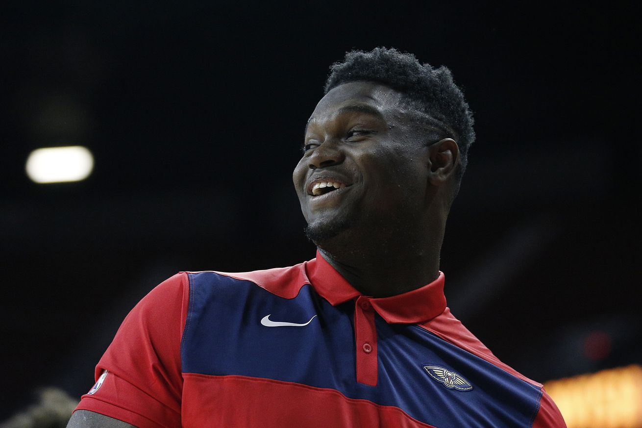 Zion Williamson thinks of himself as extremely turbocharged version of Draymond Green