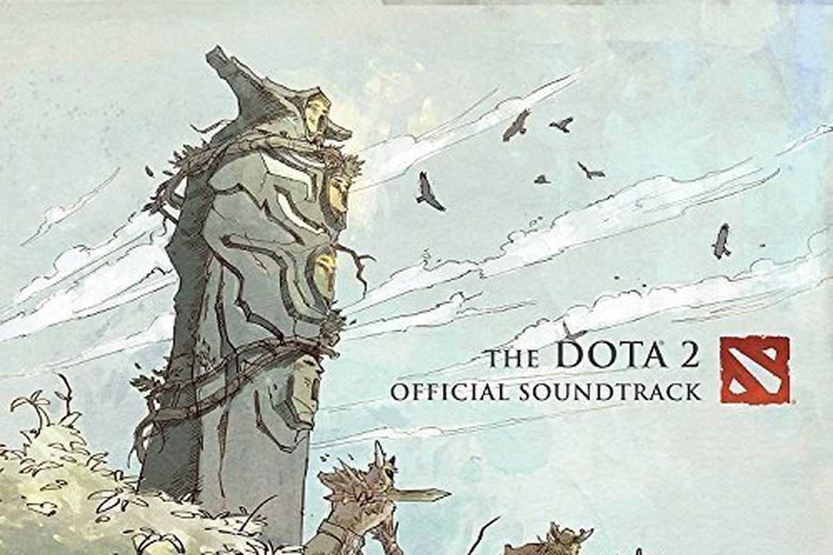 dota 2 soundtrack available for pre order the flying courier