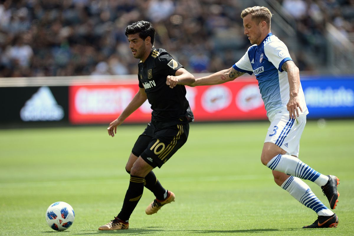 MLS: FC Dallas at Los Angeles FC