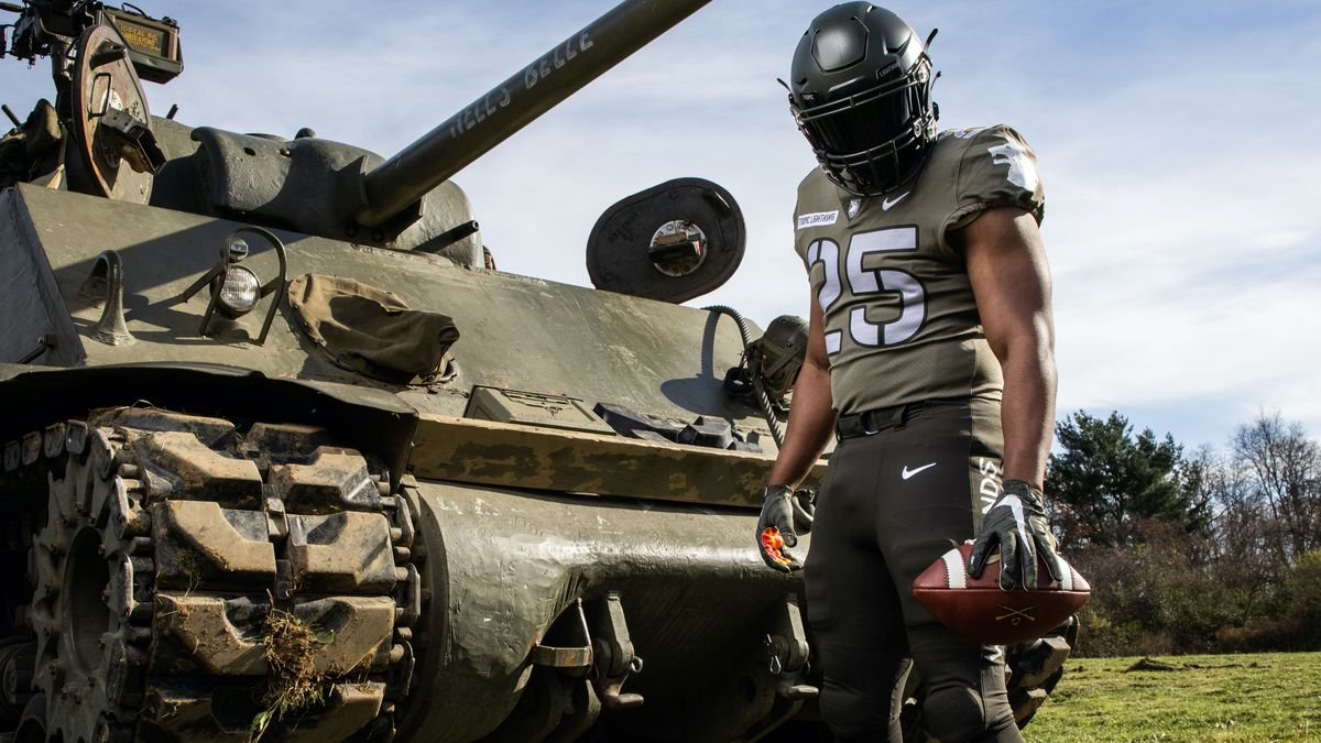 Army West Point has chosen to honor the 25th Infantry Division in their 2020 Army-Navy game uniforms.