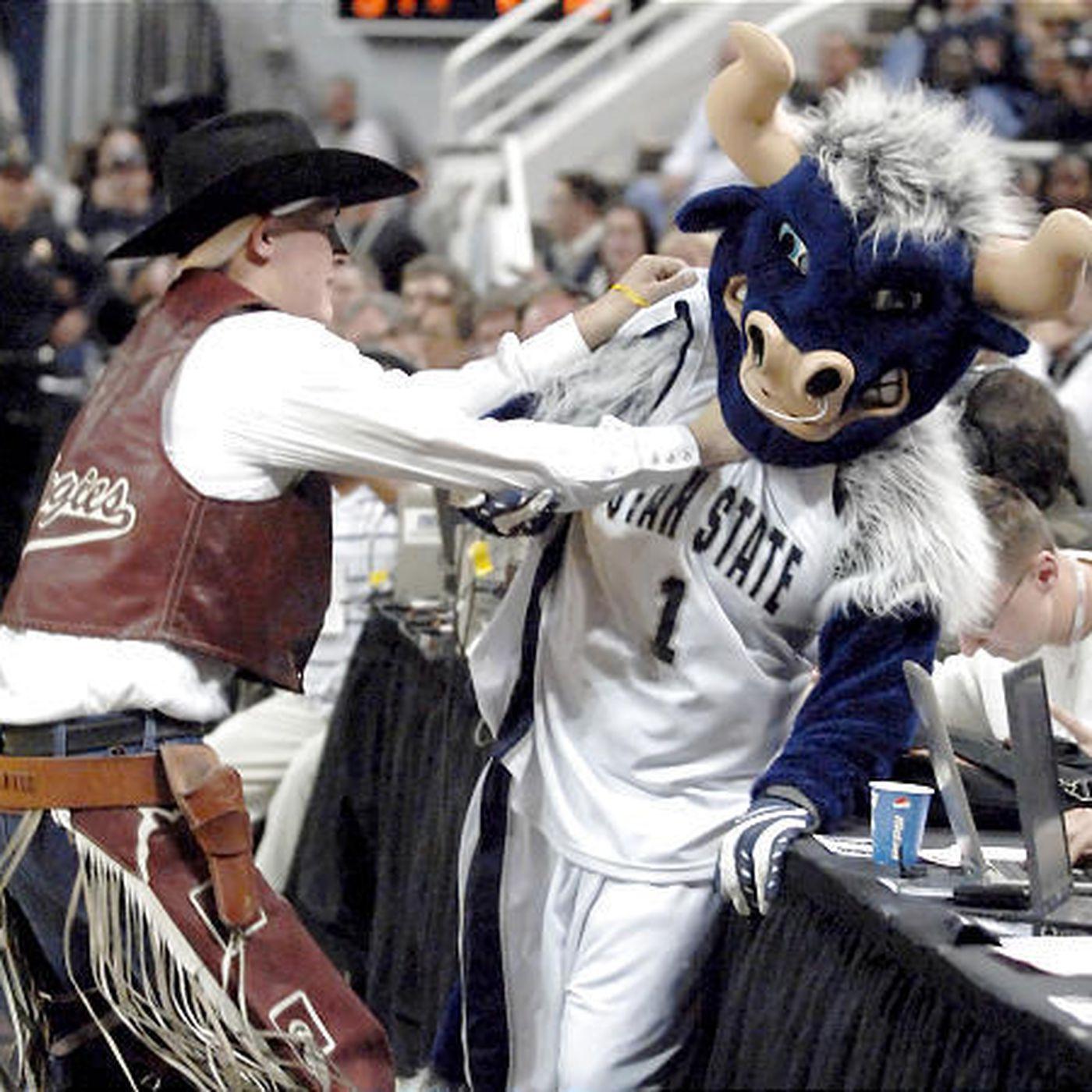 Utah State S Big Blue Benched For Finale Deseret News