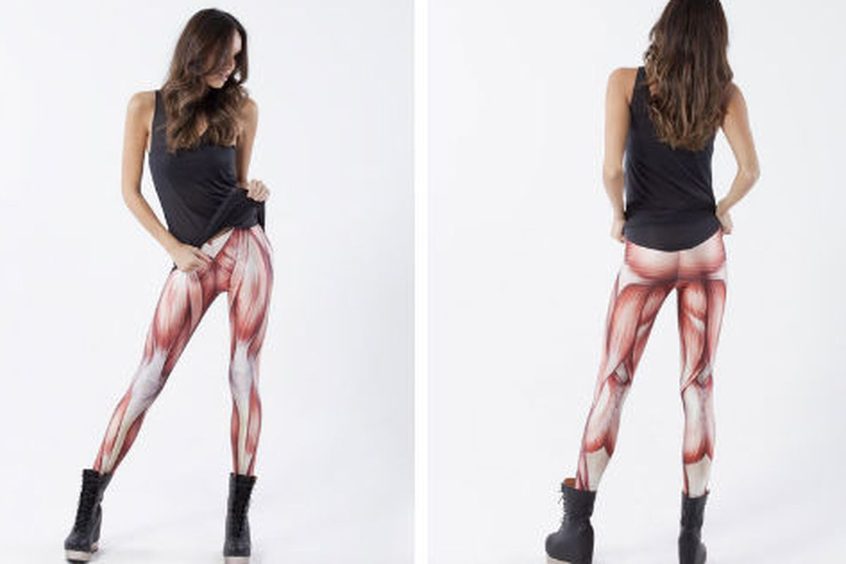 """Be the biggest, via <a href=""""http://www.blackmilkclothing.com/collections/leggings/products/muscles-leggings"""">Black Milk</a>"""