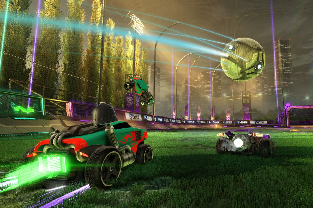 Rocket League is the first game to support cross-network play