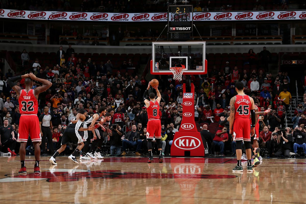 Bulls vs. Spurs final score: Zach LaVine's free throws give Chicago 110-109 victory on emotional night