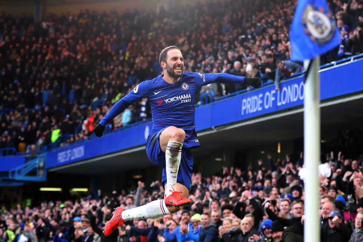 Gonzalo Higuain - Chelsea FC - Premier League