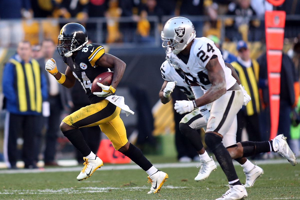 NFL: Oakland Raiders at Pittsburgh Steelers