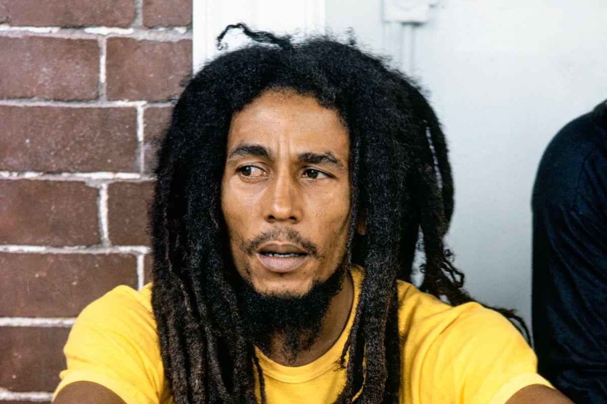 Bob Marley At Home