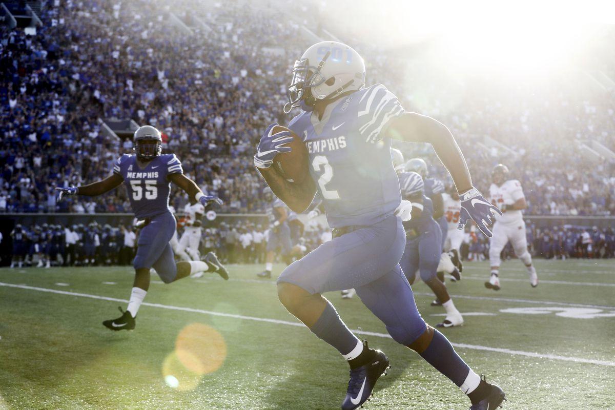 NCAA Football: Mercer at Memphis