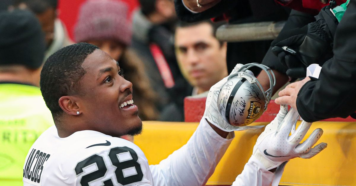 Silver Mining 12/9: Josh Jacobs was 'in tears' when he was told he was out against the Titans