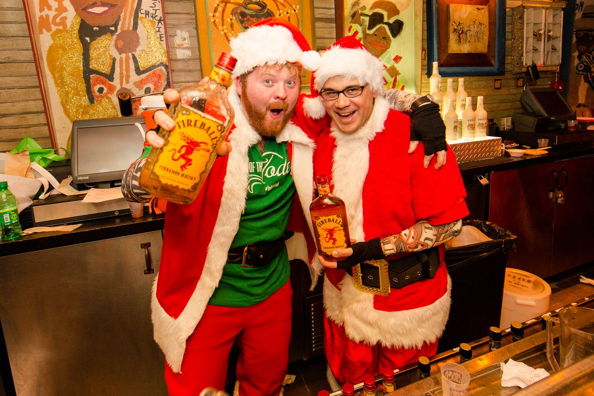 Santa, What's Fireball? Behold, Photos From Tales of The Toddy 2014