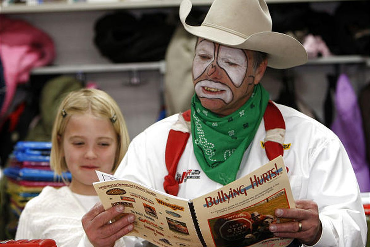 Rodeo Clown Tackling School Bullies Deseret News