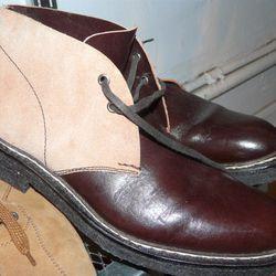 Heschung Comme des Garcons Shirt boots, $125