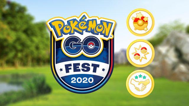 Pokemon Go Fest 2020 challenges
