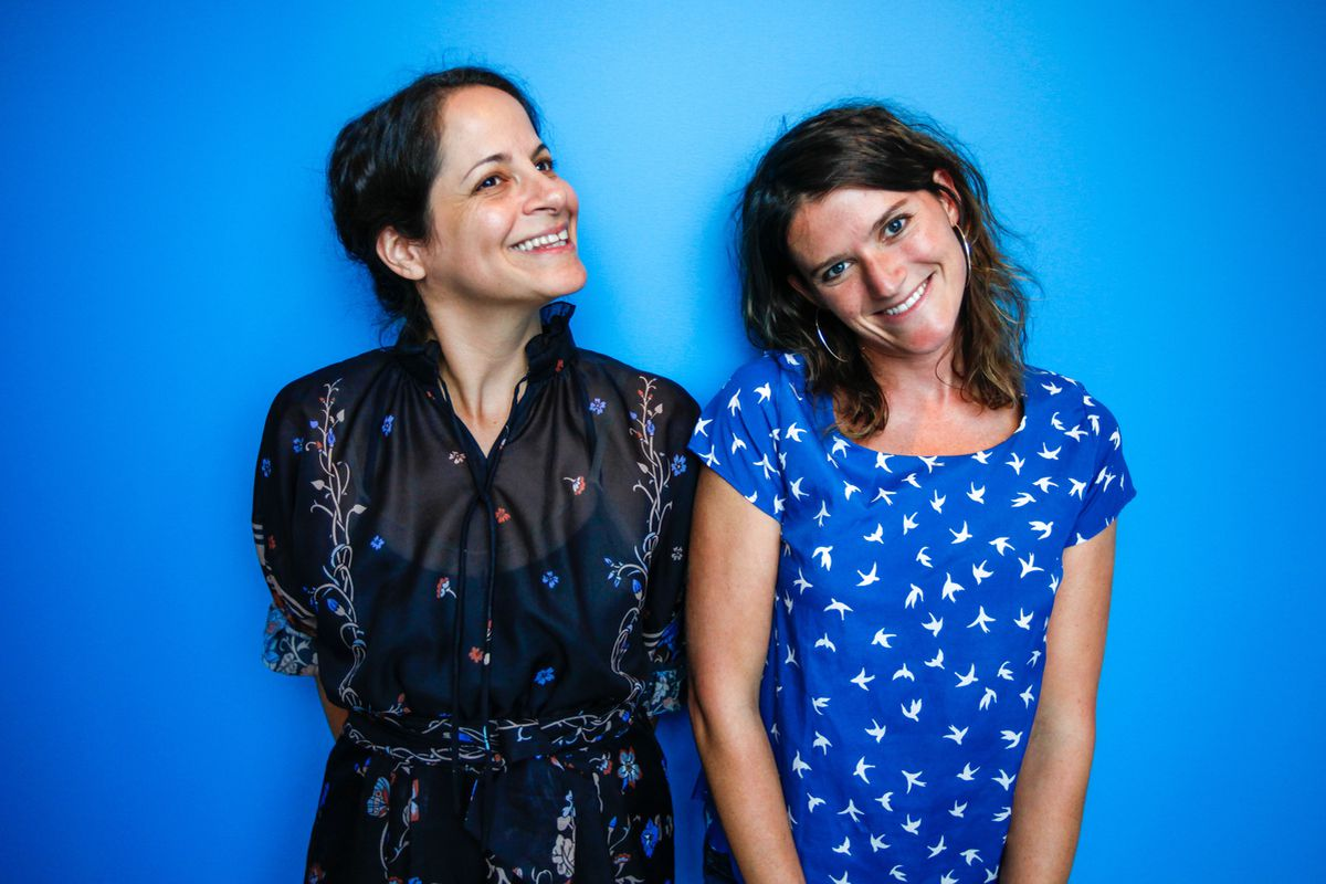 Alix Spiegel and Lulu Miller, creators of the new show Invisibilia.