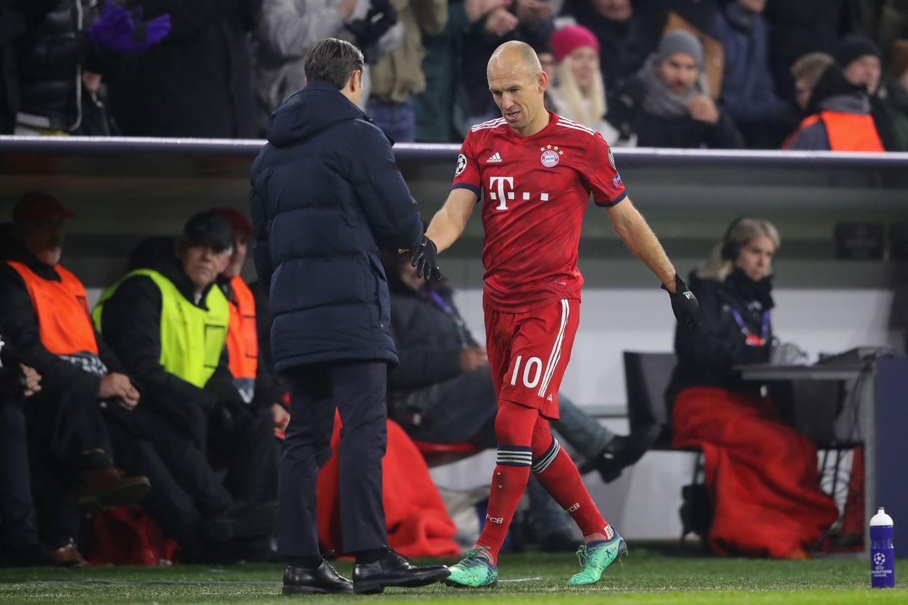 Niko Kovac hopeful Arjen Robben will play again for Bayern this season.