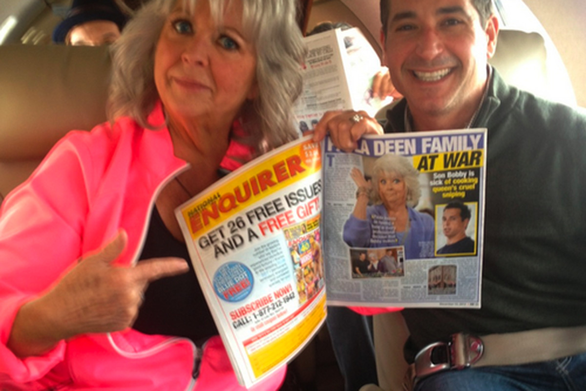 Paula and Bobby Deen.