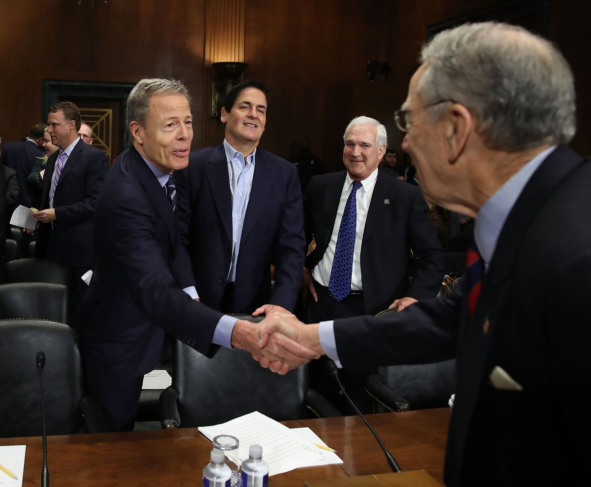 CEO's Of AT&T And Time Warner Testify On Merger To Senate Judiciary Committee