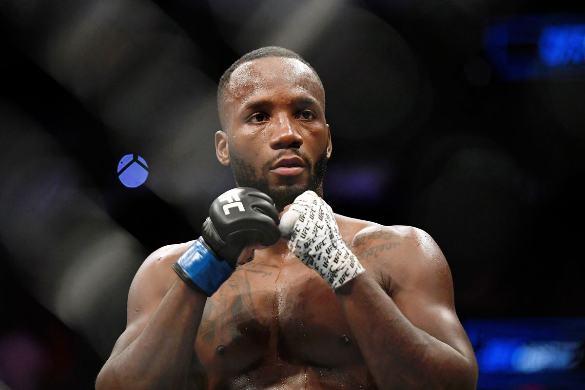 Leon Edwards after his win over Rafael Dos Anjos