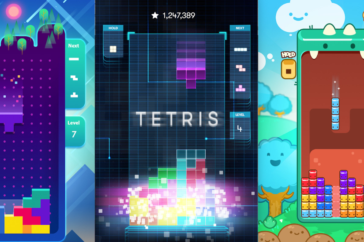 Bare Bones New Free To Play Tetris Game Released On Android Ios Polygon