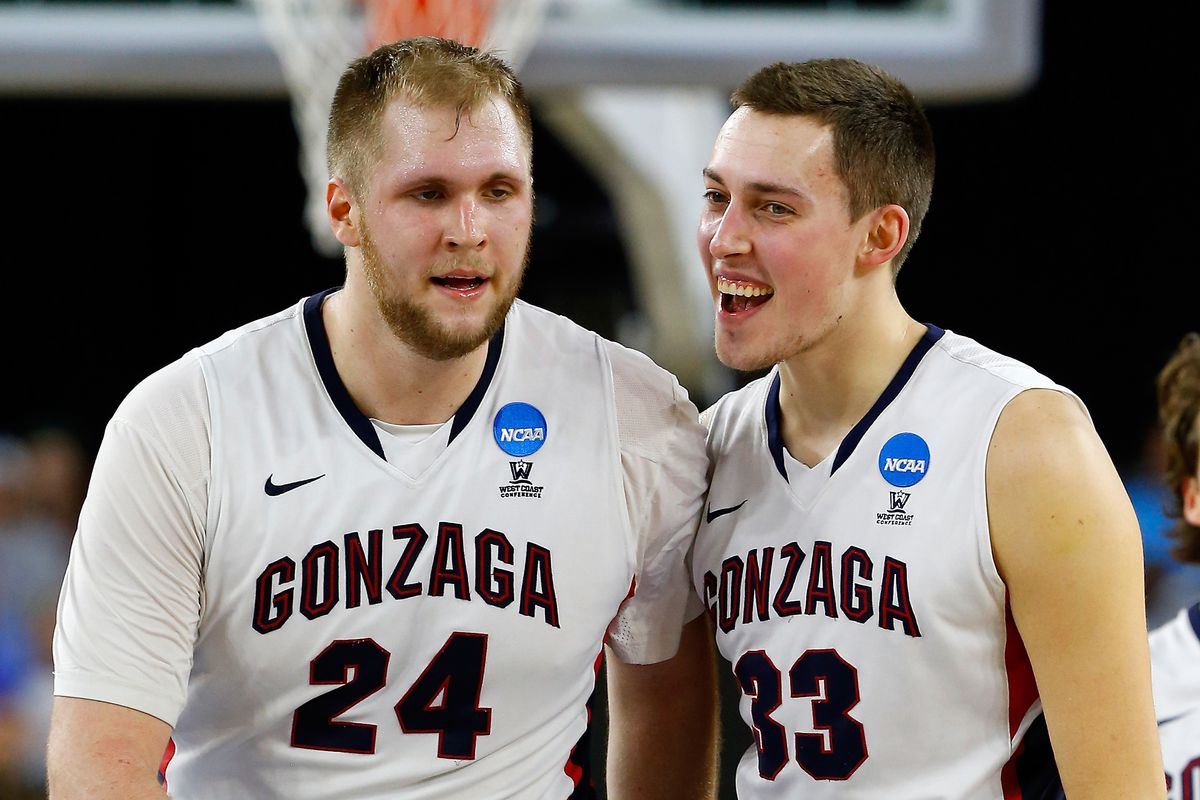 Przemek Karnowski (24), Kyle Wiltjer (33) and the Gonzaga Bulldogs are set for another big year.