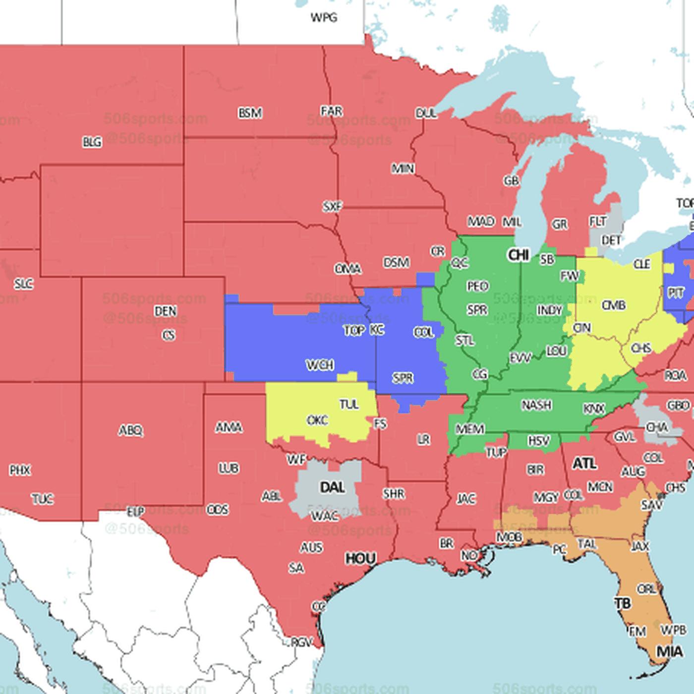 Jacksonville Jaguars vs. Miami Dolphins: Week 16 TV coverage map on on