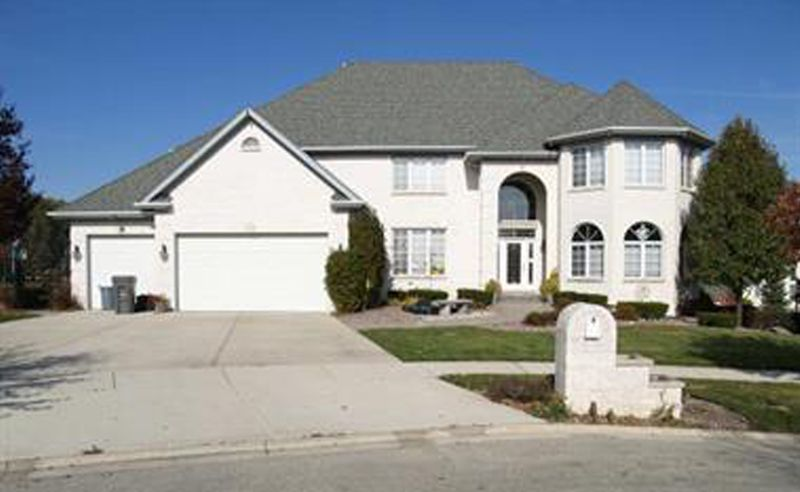 Vincent DelGiudice's home in Orland Park, where federal agents seized more than $1 million in cash, gold, silver and jewelry.