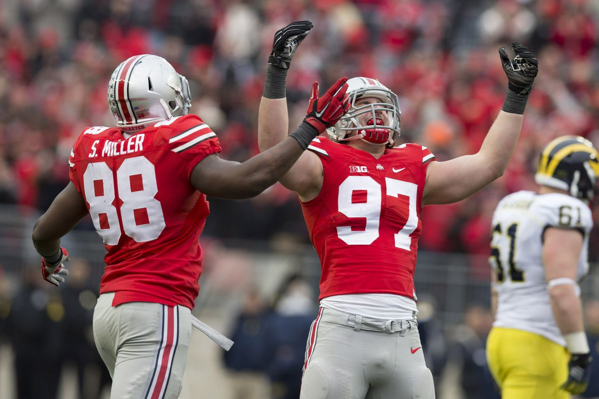 Joey Bosa was named by ESPN as one of the most indispensable Buckeyes