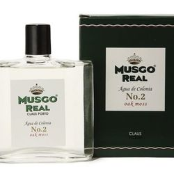 """Scent Family: Wood. <strong>Musgo Real</strong> Colonia No.2 Oak Moss Cologne, 100 ml <a href=""""http://minnewyork.com/mens-den/aftershaves-for-men/musgo-real-cologne-2.html"""">$30</a> at Min New York"""