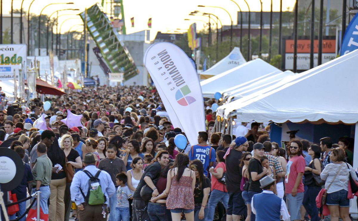 Fiesta del Sol is an annual Mexican festival in the heart of Pilsen.   Scott Stewart/Sun-Times