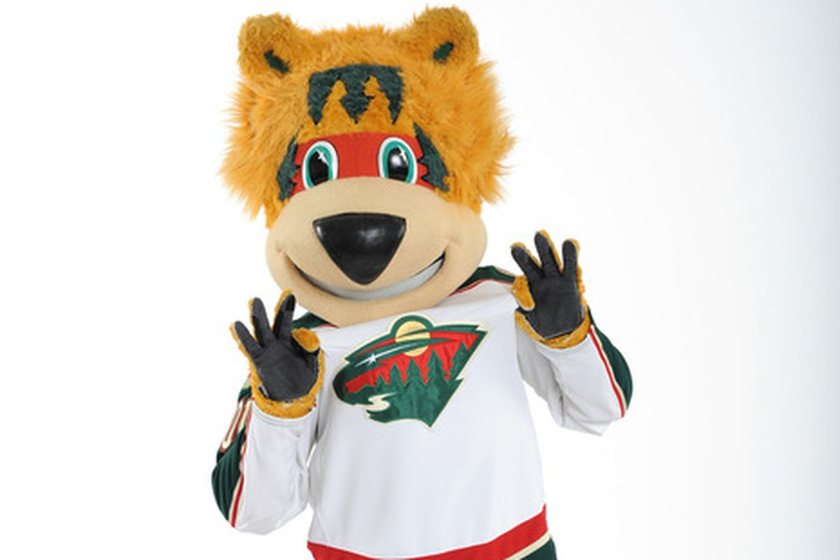 In his natural habitat, Nordy eats rowdy Wild fans.