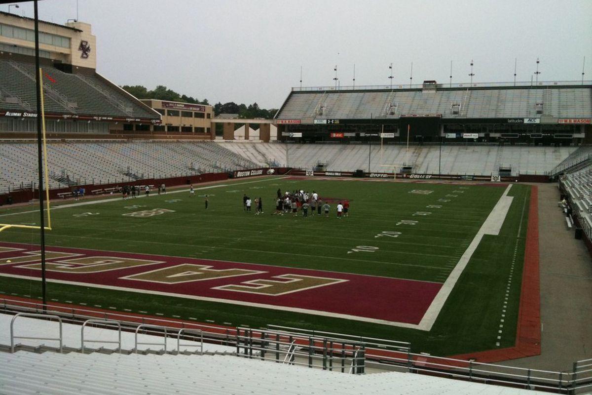 Alumni Stadium Patriots