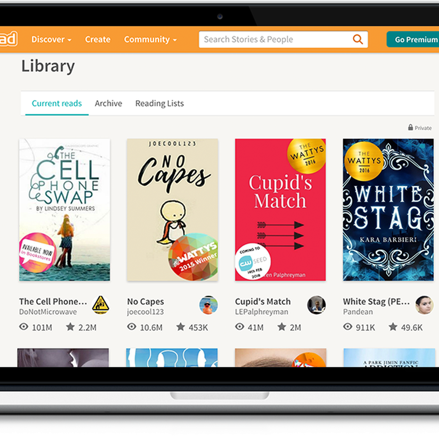 Digital publishing site Wattpad is partnering with Sony to