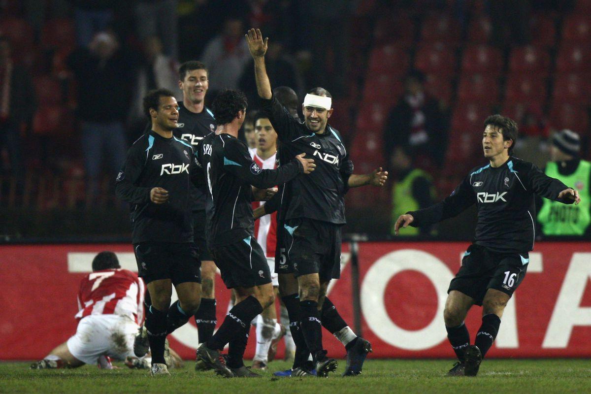 Crvena Zvezda v Bolton Wanderers - Uefa Cup